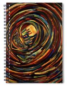 Eye Of The Cosmos Spiral Notebook