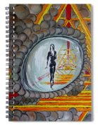Eye Of The Dragon Spiral Notebook