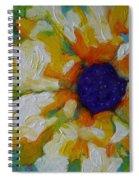 Eye Of The Flower Spiral Notebook