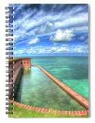 Eye Of The Fort Spiral Notebook