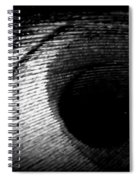 Eye Of The Peacock Feather Spiral Notebook