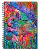 Eye Of The Squirrel Spiral Notebook
