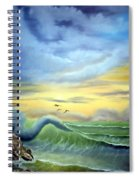 Eye Of The Storm Spiral Notebook