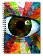 Eye To The Soul Spiral Notebook