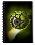 Eye Will See You In The Garden Spiral Notebook