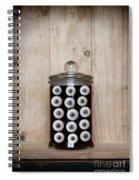 Eyes In A Jar Spiral Notebook