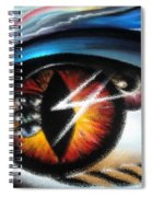 Eyes Of Immortal Soul Spiral Notebook