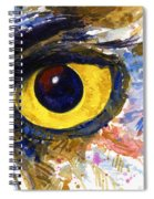 Eyes Of Owl's No.6 Spiral Notebook
