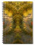 Eyes Of The Garden-1 Spiral Notebook