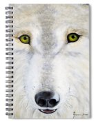 Eyes Of The Wolf Spiral Notebook
