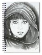 Eyes Of War Spiral Notebook