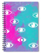 Eyes, The Look Spiral Notebook