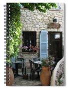 Eze Cobblestone Patio Spiral Notebook