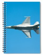 F-16 Full Speed Spiral Notebook