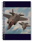 F-35's On Assignment  Spiral Notebook