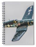 F-4u Corsair Spiral Notebook