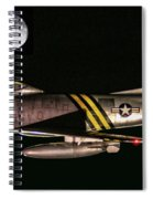 F-86 And The Moon Spiral Notebook