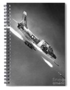 F-86 Jet Fighter Plane Spiral Notebook