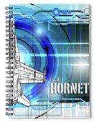 F/a-18 Hornet Spiral Notebook