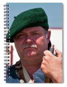F And I War Re-enactor 6942 Spiral Notebook