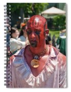 F And I War Re-enactor 6972 Spiral Notebook