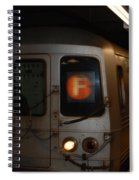 F Trian Spiral Notebook