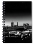 F-type In London Spiral Notebook