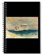 F/v Royal Dawn Tuna Fishing Boat Spiral Notebook