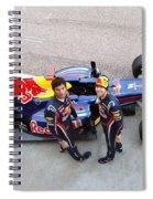 F1 Spiral Notebook