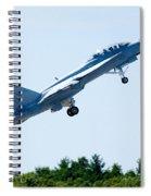 F18 - Take Off Spiral Notebook