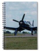 F4u-4 Corsair Airplane 30 Spiral Notebook