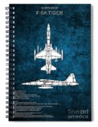 F5 Tiger Spiral Notebook