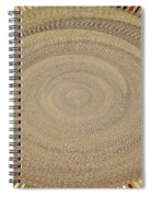 Fabric Design Abstract #9825pc Spiral Notebook