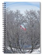 Fabricant De Glace / Ice Maker Spiral Notebook