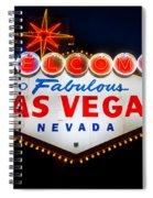 Fabulous Las Vegas Sign Spiral Notebook