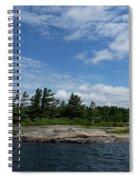 Fabulous Northern Summer - Georgian Bay Island Landscape Spiral Notebook