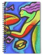 Fabulous Outdoor Party Spiral Notebook