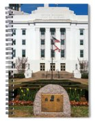 Facade Of An Office Building, Lurleen Spiral Notebook