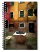 Facade Of Venice V1  Spiral Notebook