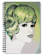 Face - Use Red-cyan 3d Glasses Spiral Notebook