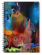 Face Dances Spiral Notebook