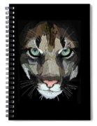 Face De Puma Spiral Notebook