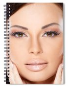 Face Spiral Notebook