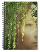 Face In The Willows Spiral Notebook