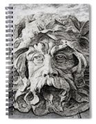 Father Time 2 Spiral Notebook