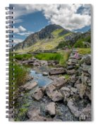 Face Of Tryfan Spiral Notebook