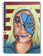 Face Paint And Freedom Spiral Notebook
