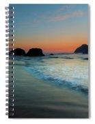 Face Rock Sundown Spiral Notebook