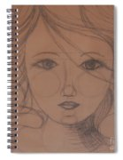 Face Study Spiral Notebook
