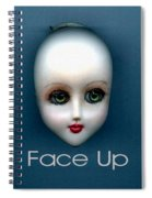 Face Up Spiral Notebook